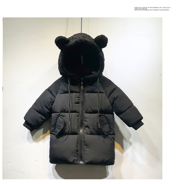 Winter Boy's Hooded Coat