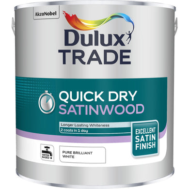 Dulux Trade Quick Dry Satinwood