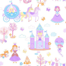 Load image into Gallery viewer, Cinderella Inspired Wallpaper