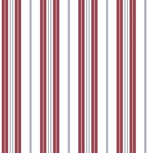 Deauville 2 Striped Wallpaper