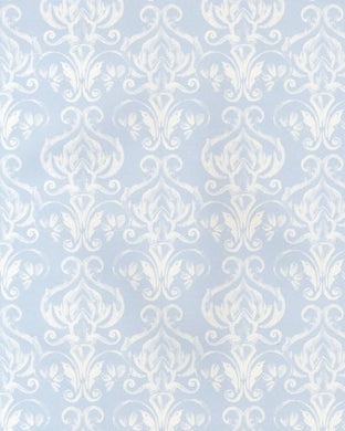 Watercolour Small Damask Print