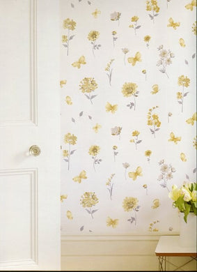 Watercolour Flower Wallpaper.
