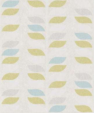 Grandeco Inspiration Leaf Wallpaper