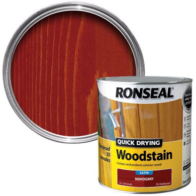 Ronseal Quick Dry Woodstain.