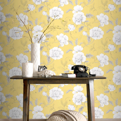 Boutique Floral Wallpaper Various Colours