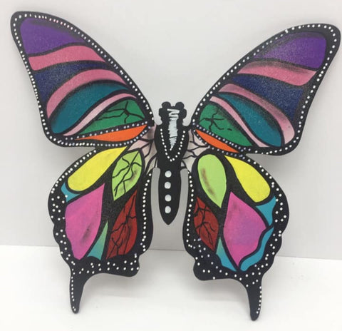 Multicolored butterfly