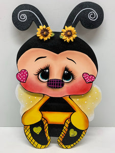 Bee with heart
