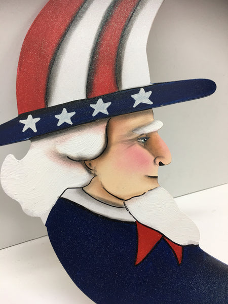 #703 Uncle Sam moon