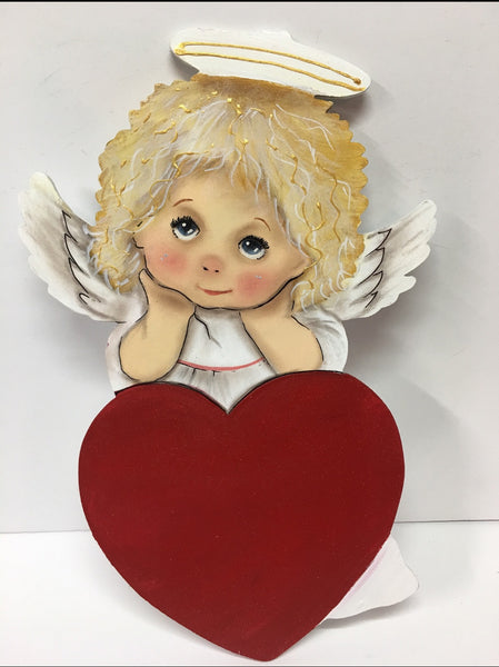 #205 Angel with heart