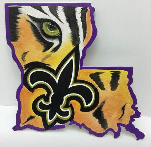 #4 Louisiana tiger