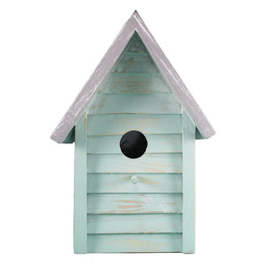 Beach Cottage Birdhouse (Aqua) - BHK 203 A