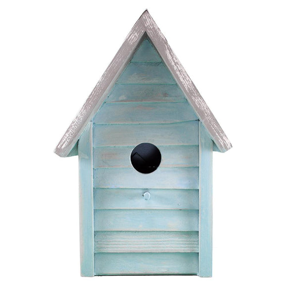 Beach Cottage Birdhouse (Blue) - BHK 203 B