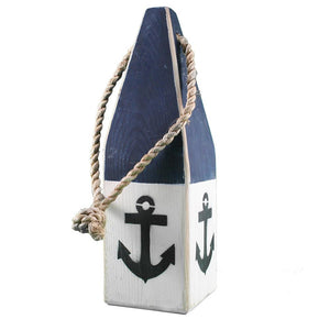 "12"" Buoy (Navy, White with Anchor) - BK 990 19"