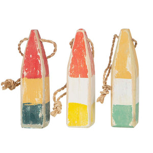 Buoy Ornament Set - Assortment #2 - BK GR2