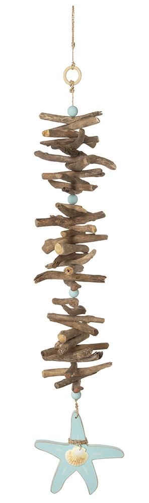 Driftwood Garland with Starfish