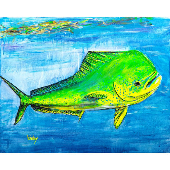 Kinley Series - Green Fish