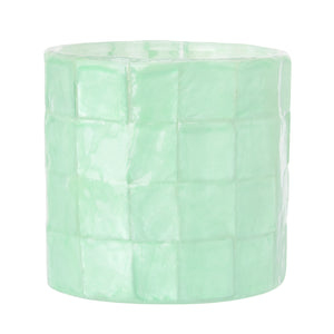 Capiz Tea Light Candle Holder (Ocean) - SK 341 O