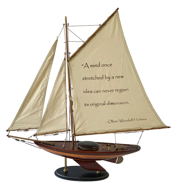 Sailboat - With Quote -