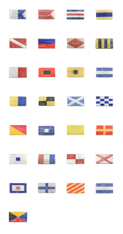 Nautical Signal Flags - 6 Inch x 9 Inch (28 Variations Available)