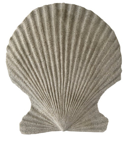 "Sand Colored Scallop Wall Décor (16"" x 18"" x 3.5"") - UC19S6172-76"