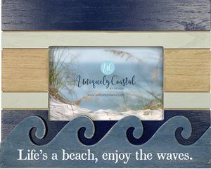 Wood Painting Frame - Life is a beach - UCPF202