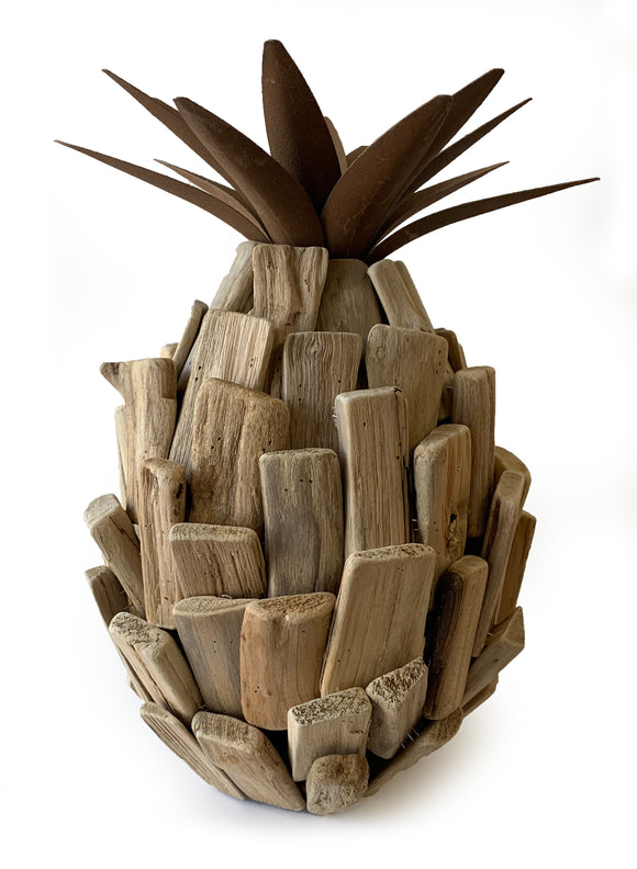 Medium Driftwood Pineapple Décor (6
