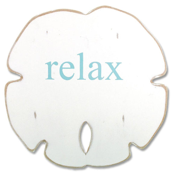 Sand Dollar - Relax (White, Aqua) - WJ SA13 RE