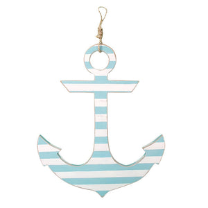 Anchor (White & Aqua) - WJ AN22 AS