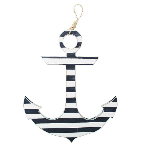 Anchor (White & Navy) - WJ AN22 NAVS
