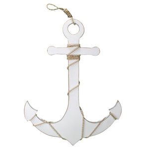 Anchor with Rope Accent (White) - WJ AN25 W
