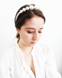 Load image into Gallery viewer, Pearl Crown Headband