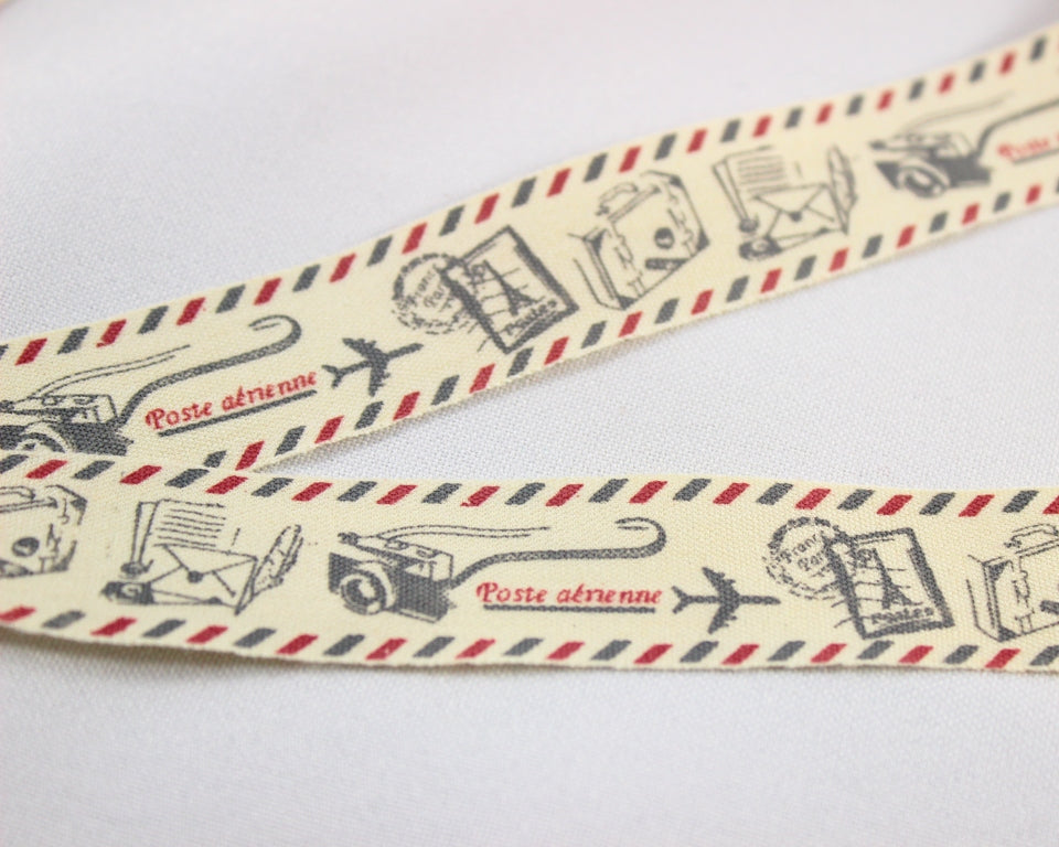 Travel and holiday ribbon