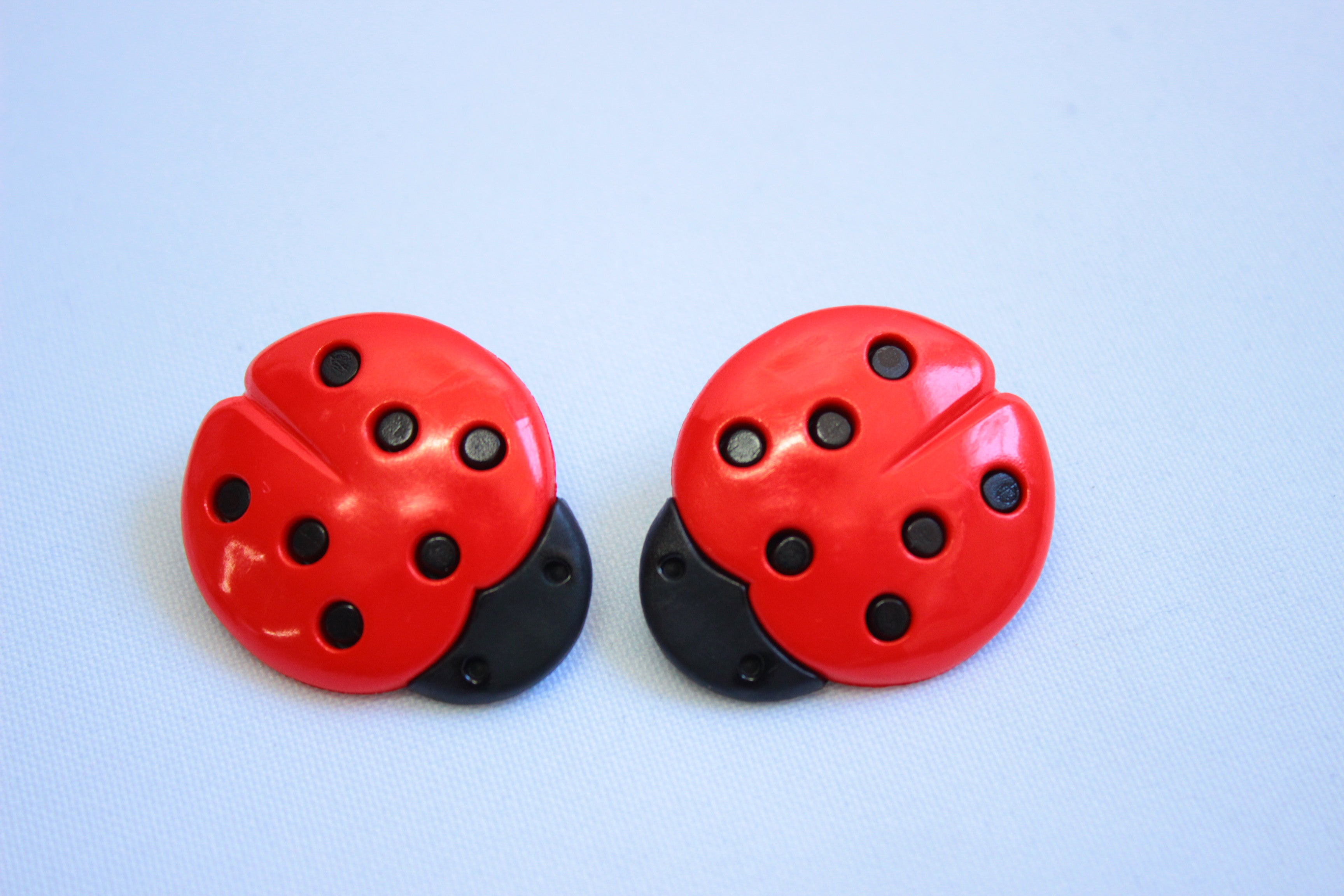 Large ladybird buttons