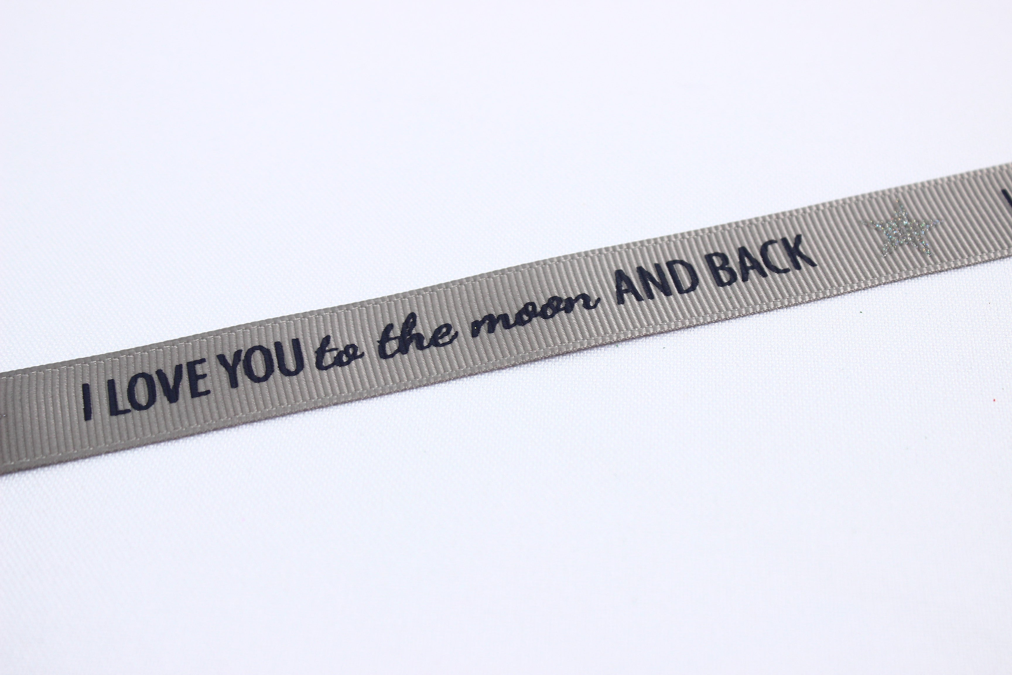 Love you to the moon ribbon