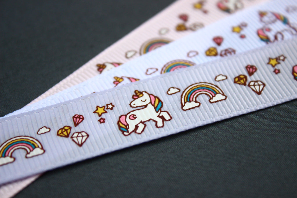 Unicorn ribbons