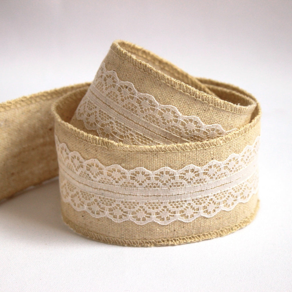 Wedding linen ribbon