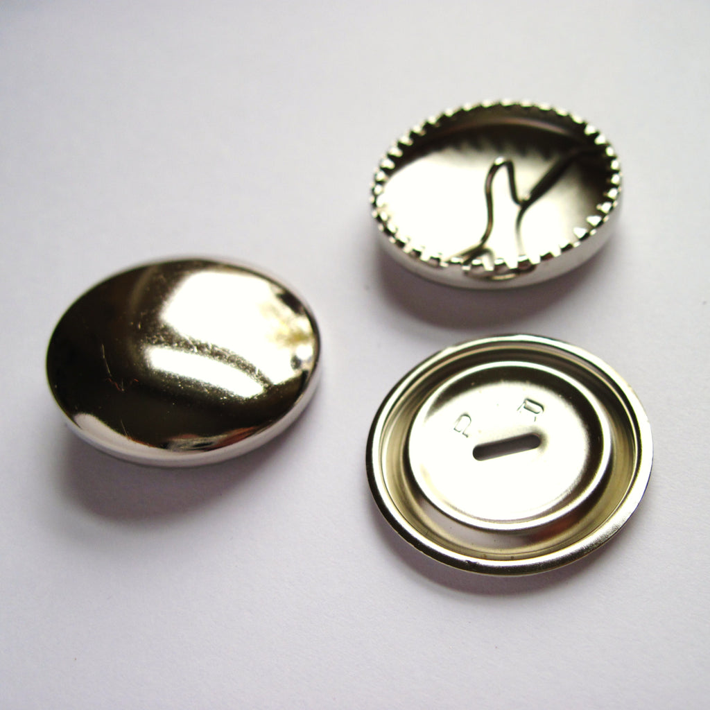 Metal self cover buttons