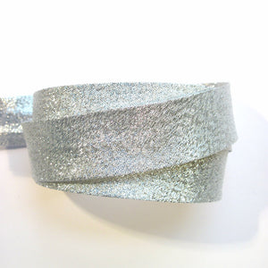 Metallic bias binding