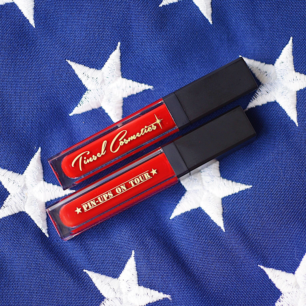 KISS A VET: The Collab with Pinups on Tour! Liquid to Matte Performance Lipstick