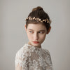 Mori Girls Handmade Bridal Headdress Flower Branches Bride Hairband Modeling Photo Accessories O352