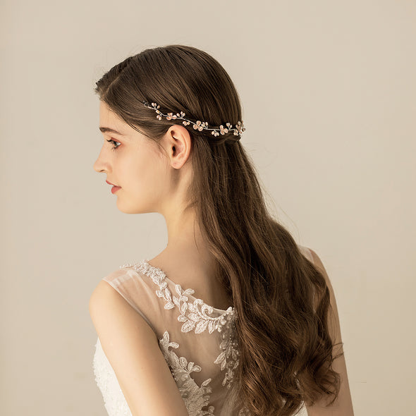 Wedding Bride Headdress Handmade Jewelry Bridal Hair Accessories