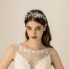 Pearl Crystal Bridal Hairbands Tiaras Wedding Crown Headband