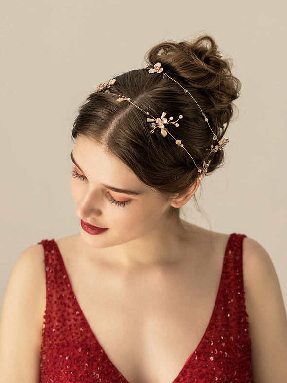 Bohemian Wedding Accessories Bridal Hairdress O542