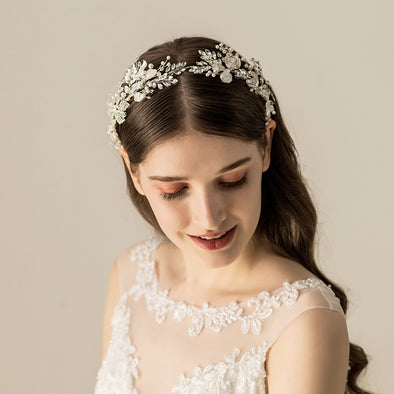 Rhinestone Crystal Headband Bride Hair Accessories O543