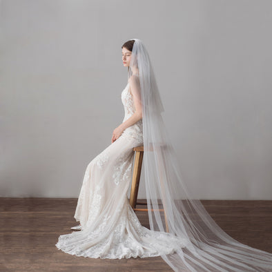 Wedding Veil Long 3 meters length V615