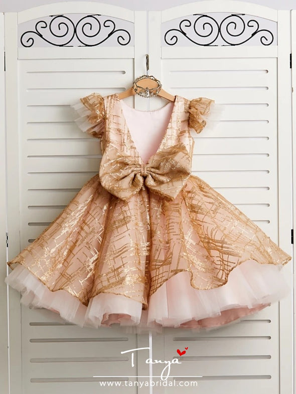 Princess Knee Length Wedding / Birthday / Pageant Flower Girl Dresses