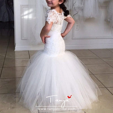 Flower Girl Dresses For Teens Formal Holy Communion Gown TBF05