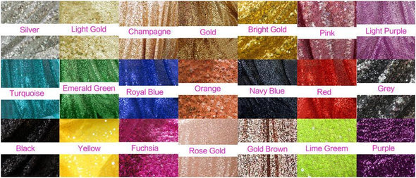 Gold Mermaid Sequined Girls Pageant Dresses Long Sleeves TBF10