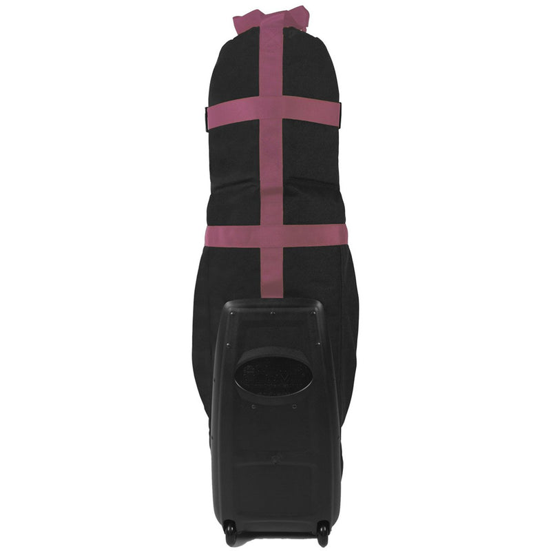 Club Glove Last Bag Collegiate Golf Travel Bag (Black-Pink)