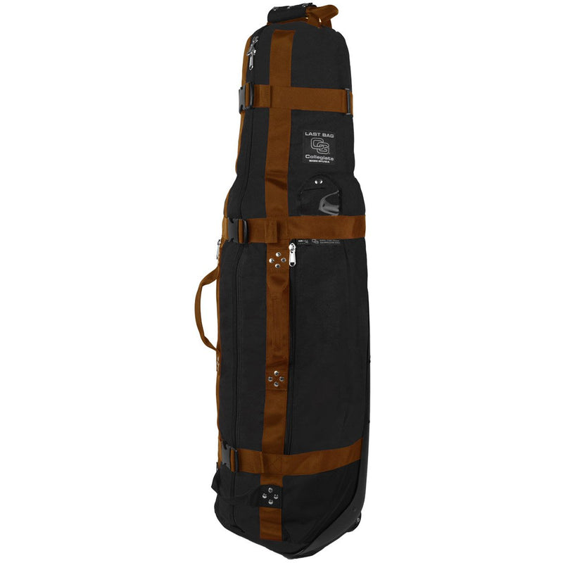 Club Glove Last Bag Collegiate Golf Travel Bag (Black-Copper)
